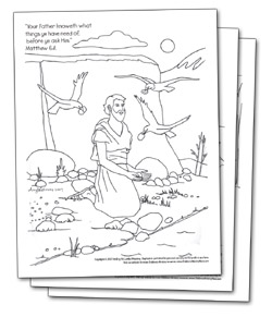 childrens bible lessons on dvd - Hebrews 13 8 Coloring Page